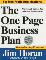 Omslag - The One Page Business Plan