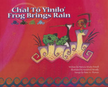 Ch'at to Yinilo'/Frog Brings Rain av Patricia Hruby Powell (Innbundet)