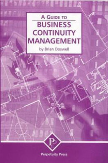 Business Continuity Management (A Guide to) av Brian Doswell (Heftet)
