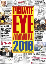 Omslag - Private Eye Annual 2016