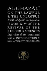 Omslag - Al-Ghazali on the Lawful and the Unlawful