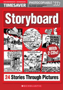 Timesaver Storyboard - 24 Stories Through Pictures - Pre Intermediate / Intermediate - With CD (Kopieringsoriginal)
