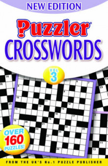 Puzzler Crosswords: Vol. 3 av Julie Miller (Heftet)