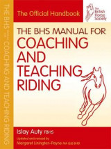 Omslag - The BHS Manual for Coaching and Teaching Riding