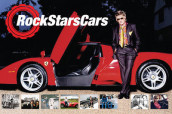 Rock Stars' Cars av David Roberts (Innbundet)