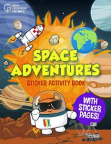 Omslag - Space Adventures Sticker Activity Book