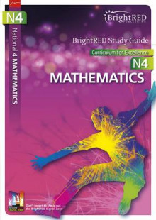 BrightRED Study Guide National 4 Mathematics: N4 av Brian Logan (Heftet)