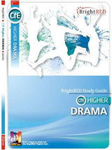 Omslag - Brightred Study Guide CfE Higher Drama
