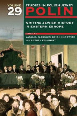 Omslag - Polin: Writing Jewish History in Eastern Europe: Volume 29