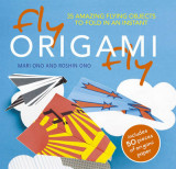 Omslag - Fly origami fly!