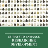 Omslag - 53 Ways to Enhance Researcher Development