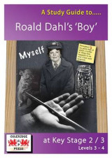 Omslag - A Study Guide to Boy by Roald Dahl at Key Stage 2 to 3