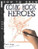 Omslag - How To Draw Comic Book Heroes