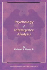 Omslag - The Psychology of Intelligence Analysis