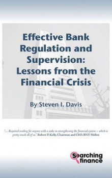 Effective Bank Regulation: Lessons from the Financial Crisis av Steven I. Davis (Innbundet)