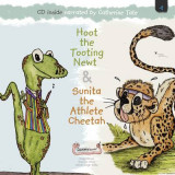 Omslag - Hoot the Tooting Newt & Sunita the Athlete Cheetah