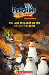 Omslag - The Penguins of Madagascar The Lost Treasure of the Golden Squirrel
