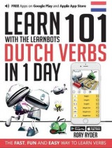 Omslag - Learn 101 Dutch Verbs in 1 Day with the Learnbots