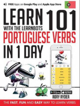 Omslag - Learn 101 Portugese Verbs in 1 Day with the Learnbots