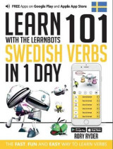 Omslag - Learn 101 Swedish Verbs in 1 Day with the Learnbots
