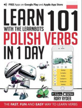 Omslag - Learn 101 Polish Verbs in 1 Day with the Learnbots