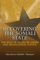 Omslag - Recovering the Somali State