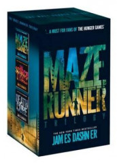 The maze runner 1-3 av James Dashner (Innbundet)