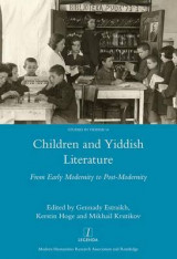 Omslag - Children and Yiddish Literature