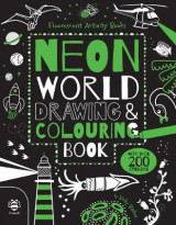 Omslag - Neon World Drawing and Colouring Book