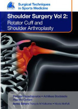 Omslag - EFOST Surgical Techniques in Sports Medicine - Shoulder Surgery, Volume 2: Rotator Cuff and Shoulder Arthroplasty