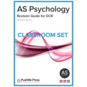 AS Psychology Revision Guide for OCR Classroom Set av Claire Barker (Samlepakke)