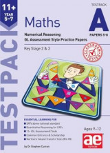 Omslag - 11+ Maths Year 5-7 Testpack A Papers 5-8