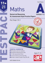 Omslag - 11+ Maths Year 5-7 Testpack A Papers 9-12