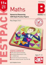 Omslag - 11+ Maths Year 5-7 Testpack B Papers 1-4