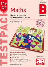 Omslag - 11+ Maths Year 5-7 Testpack B Papers 9-12
