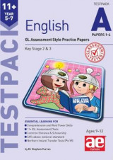 Omslag - 11+ English Year 5-7 Testpack A Papers 1-4