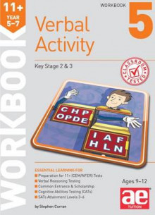 11+ Verbal Activity Year 5-7 Workbook 5 av Stephen C. Curran, Mike Edwards og Janet Peace (Heftet)