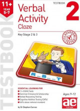 Omslag - 11+ Verbal Activity Year 5-7 Cloze Testbook 2