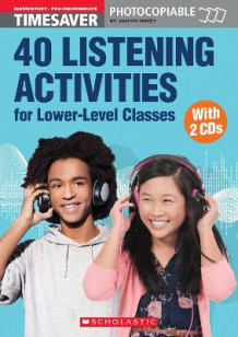 40 Listening Activities for Lower-Level Classes av Judith Greet (Blandet mediaprodukt)