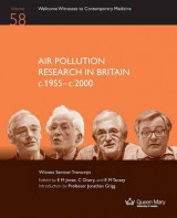 Omslag - Air Pollution Research in Britain C.1955-C.2000