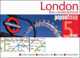 Omslag - London Bus and Underground PopOut Map