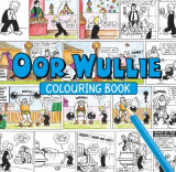 Omslag - Oor Wullie Colouring Book