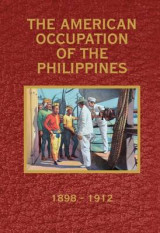 Omslag - The American Occupation of the Philippines 1898-1912