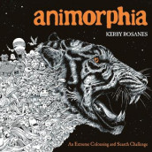 Animorphia - an extreme colouring and search challenge av Kerby Rosanes (Heftet)