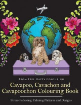 Omslag - Cavapoo, Cavachon and Cavapoochon Colouring Book
