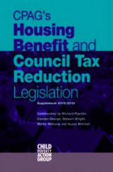 Omslag - CPAG's Housing Benefit and Council Tax Reduction Legislation 2015/16