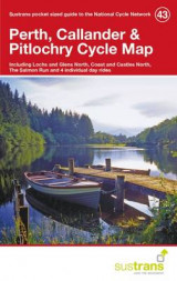 Omslag - Perth, Callander & Pitlochry Cycle Map 43