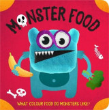 Omslag - Monster Food Finger Puppet Book