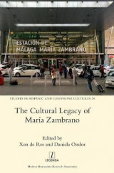 Omslag - The Cultural Legacy of Maria Zambrano