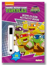 Omslag - Half Shell Heroes Wipe-Clean Activity Book